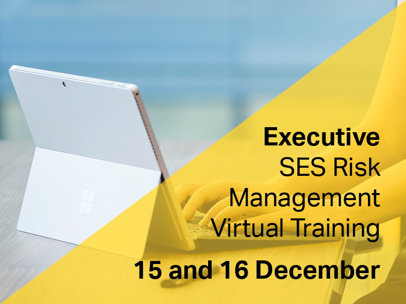 Executive SES Risk Management Virtual Training